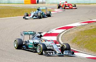 chinese gp: lewis hamilton compromised  my race, says rosberg